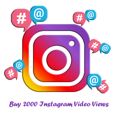 Buy 2000 Instagram Video Views